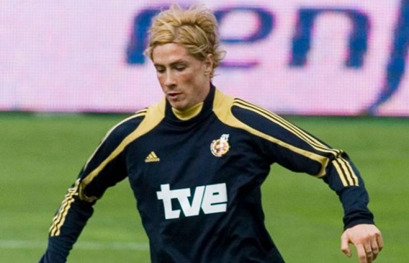 Un esguince en el tobillo de Torres le convierte en duda para el amistoso España-EE.UU. de Santander.