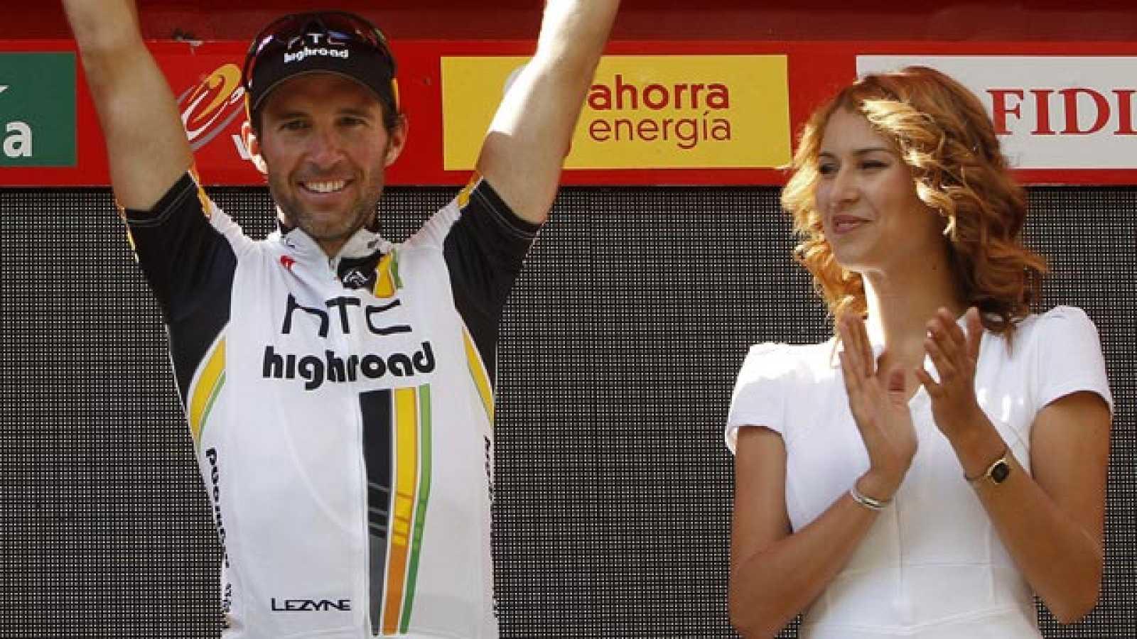 El corredor suizo se impone en el sprint de la 13ª etapa de la Vuelta 2011, con pocas novedades en la general