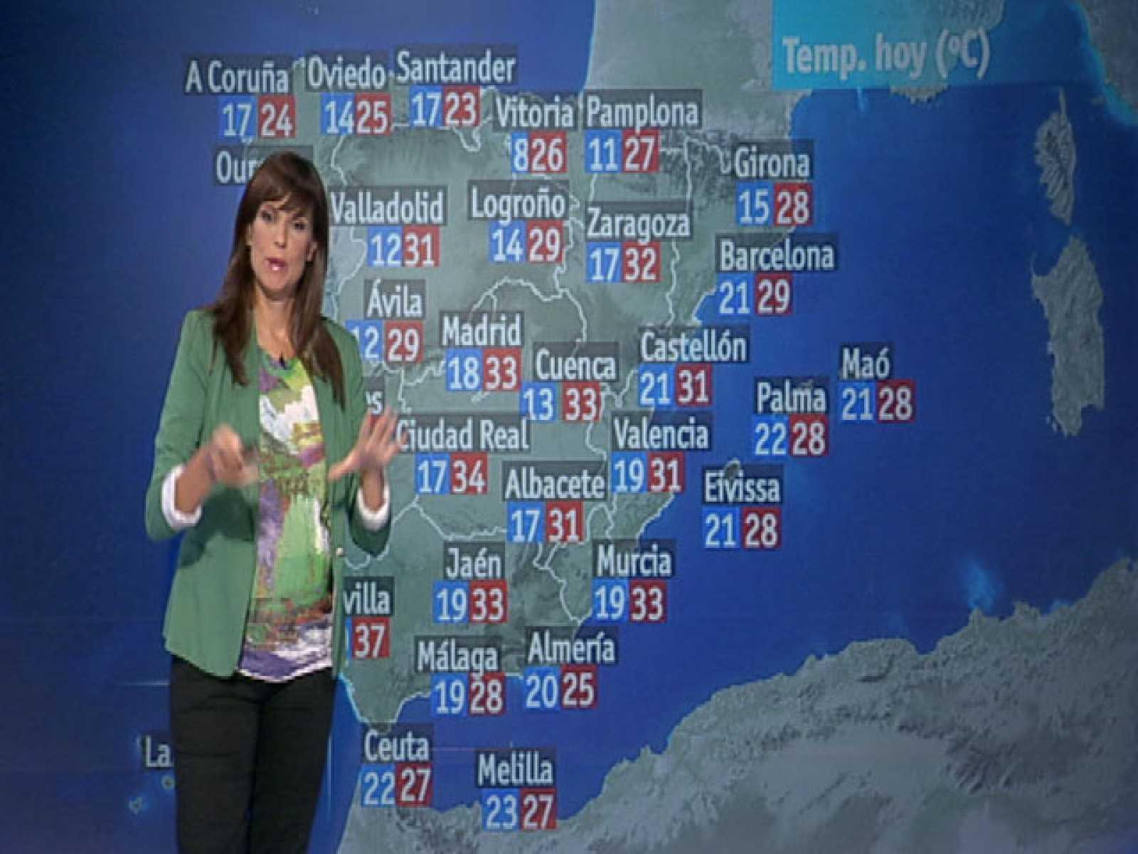 Mas De 30 Capitales De Provincia Superaran Manana Los 30 Grados De Temperatura Rtve Es