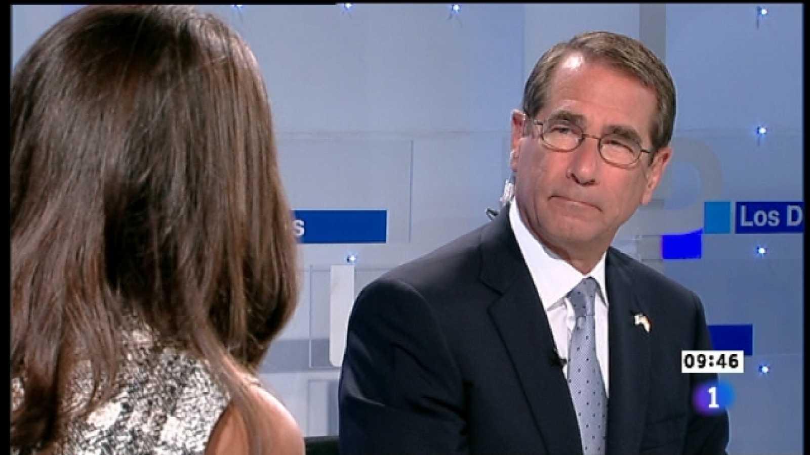 Los desayunos de TVE - Alan Salomon, Embajador de EE.UU. en España  - Ver ahora