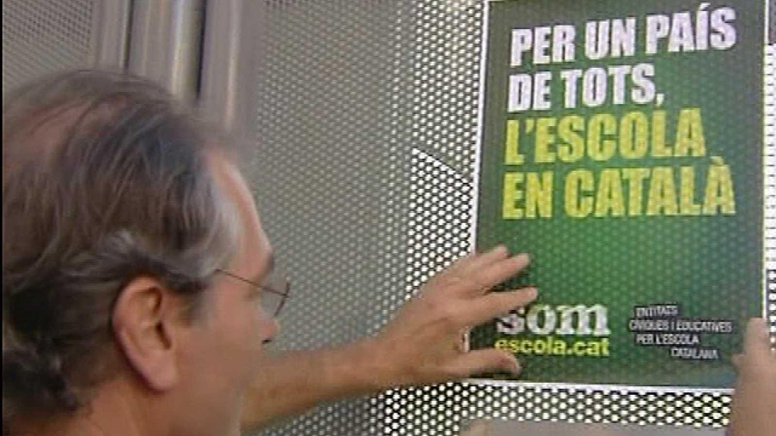 En Cataluña, el colegio comienza con una gran polémica en la utilización del castellano como lengua vehicular
