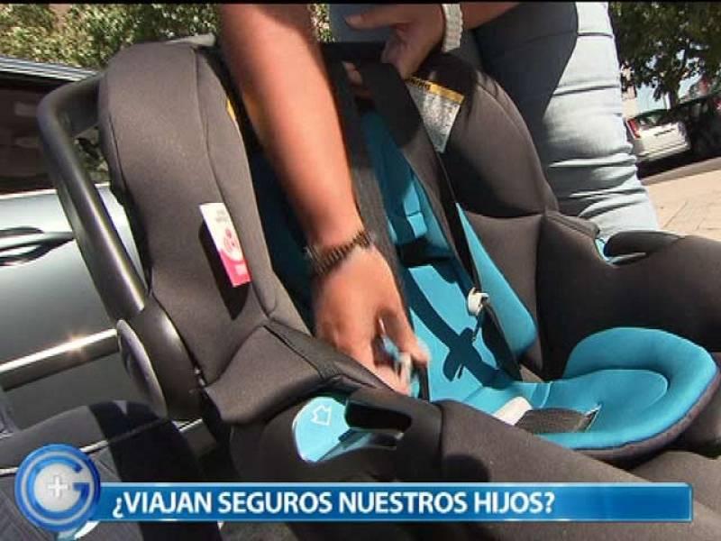 Más Gente - Consejos para que los niños viajen seguros en el coche