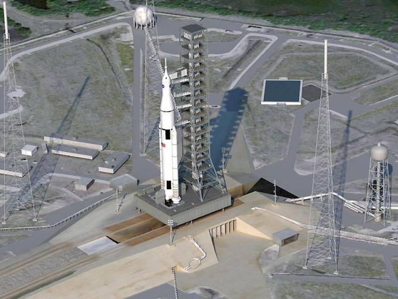 La NASA presenta nuevo sistema de lanzamiento para llevar al hombre a Marte