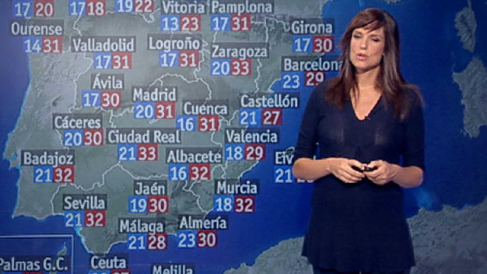 Las temperaturas bajan hasta siete grados este fin de semana