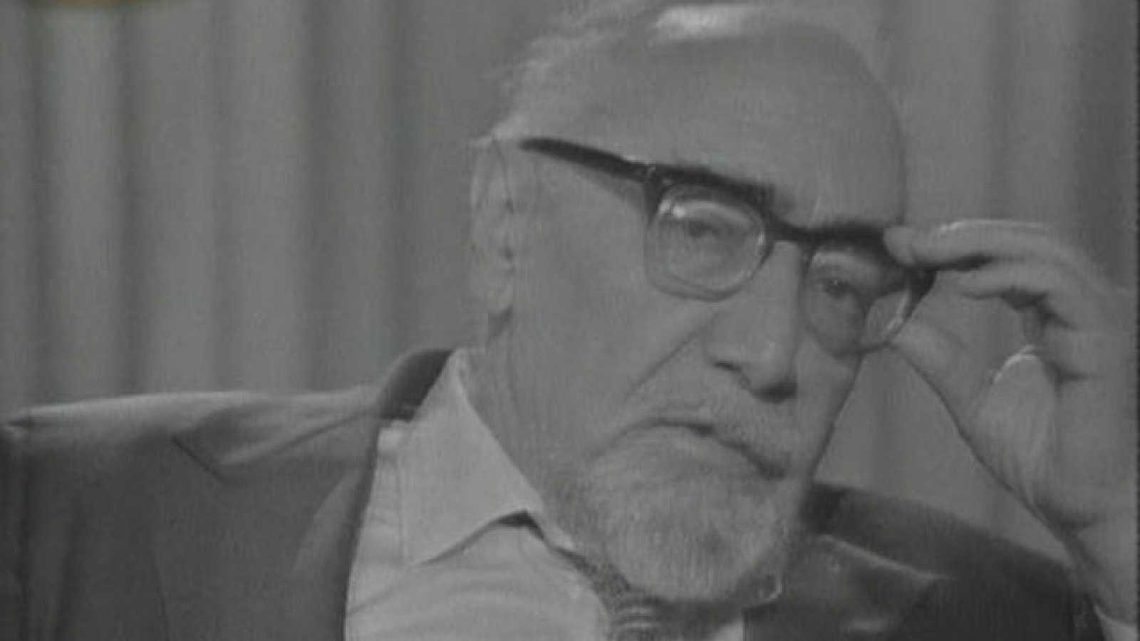 Ramón J. Sender en 'A fondo' (1976)