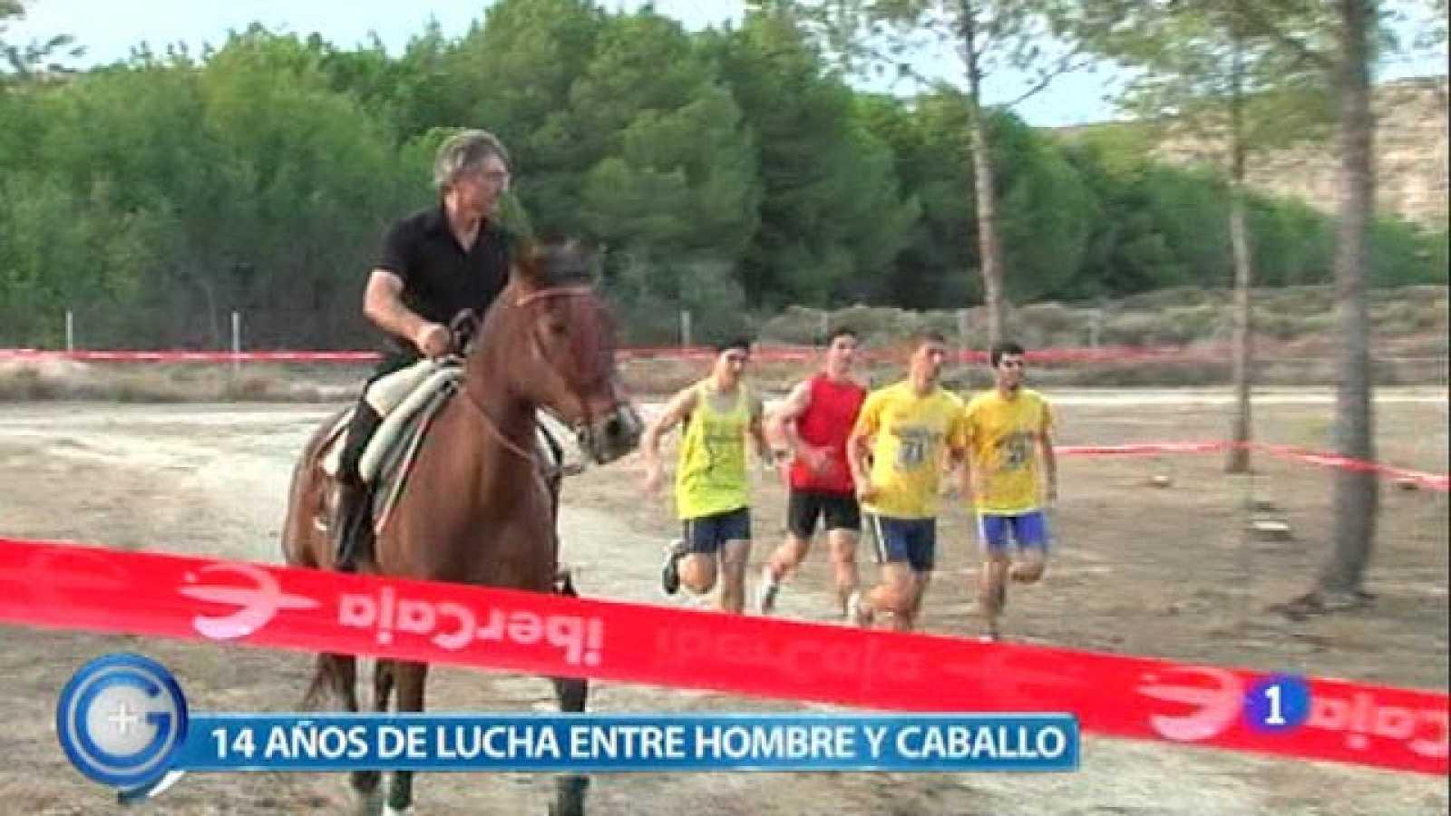 Más Gente - Caballos y hombres se desafían en Huesca