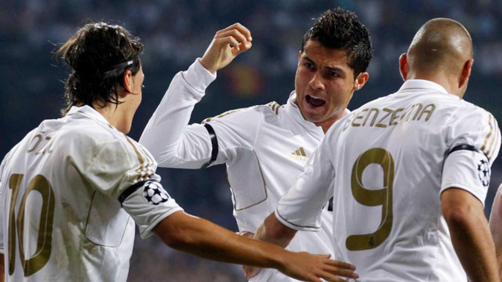 El Madrid convence ante el Ajax