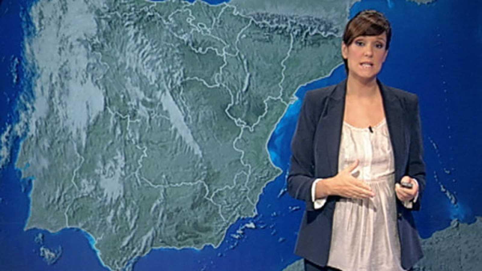 Chubascos en Murcia, Valencia y Baleares,y levante fuerte en Estrecho
