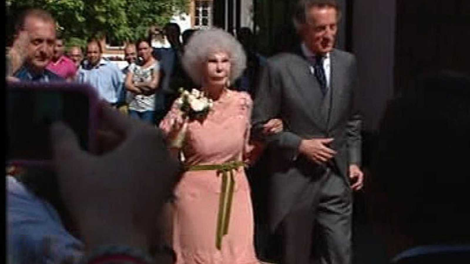 Corazón - La duquesa de Alba ya se ha casado