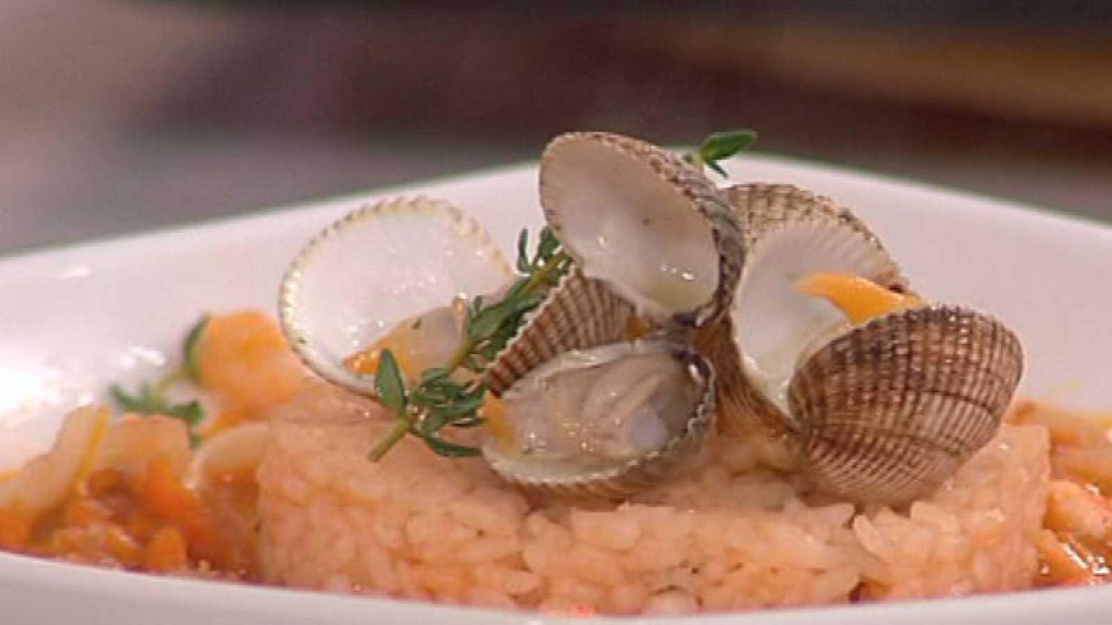 Saber Cocinar - Sopa de marisco con arroz al ajillo (13/10/2011)