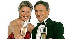José Mota y Anne Igartiburu en las campanadas de 2010