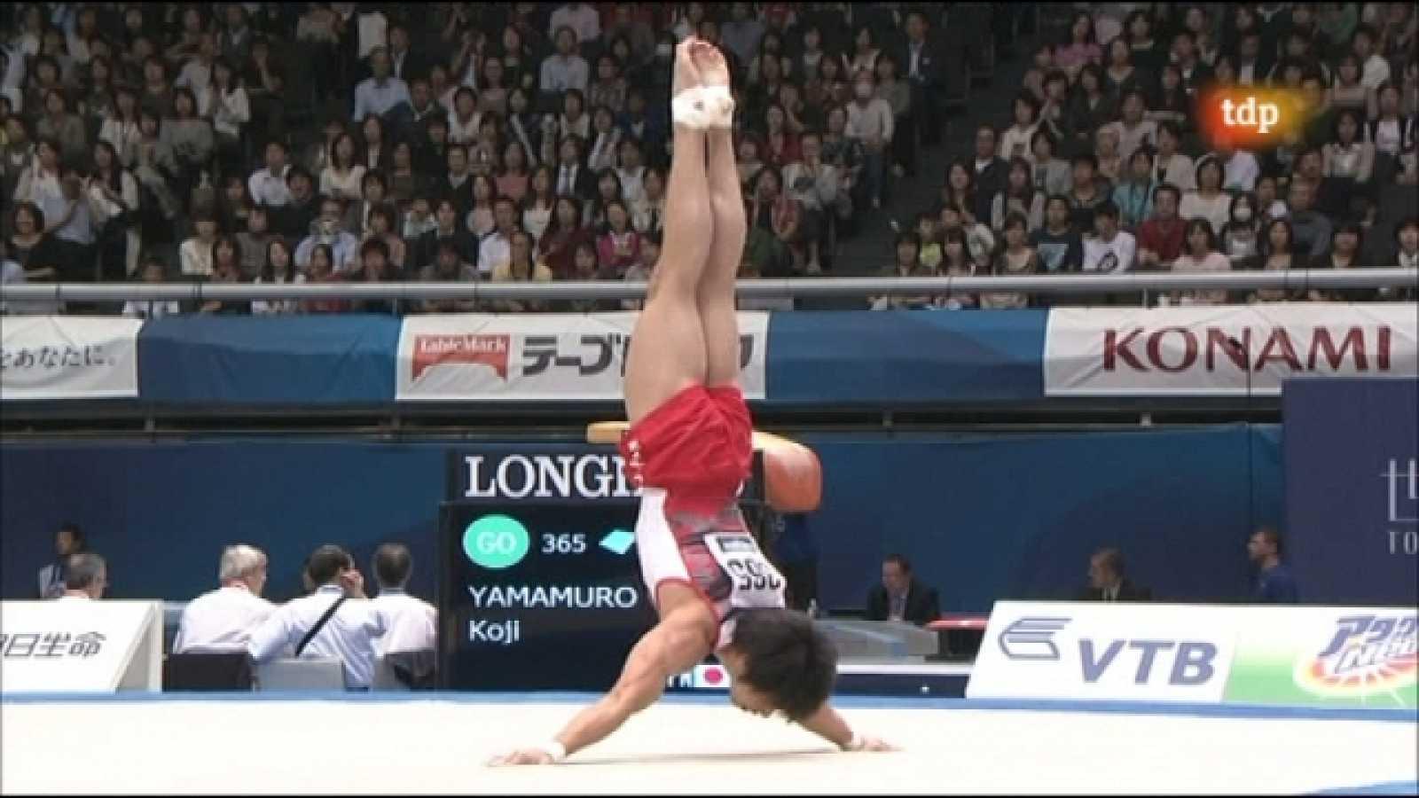 Gimnasia artística - Campeonato del mundo. Concurso completo masculino - Primera parte - 14/10/11 - Ver ahora
