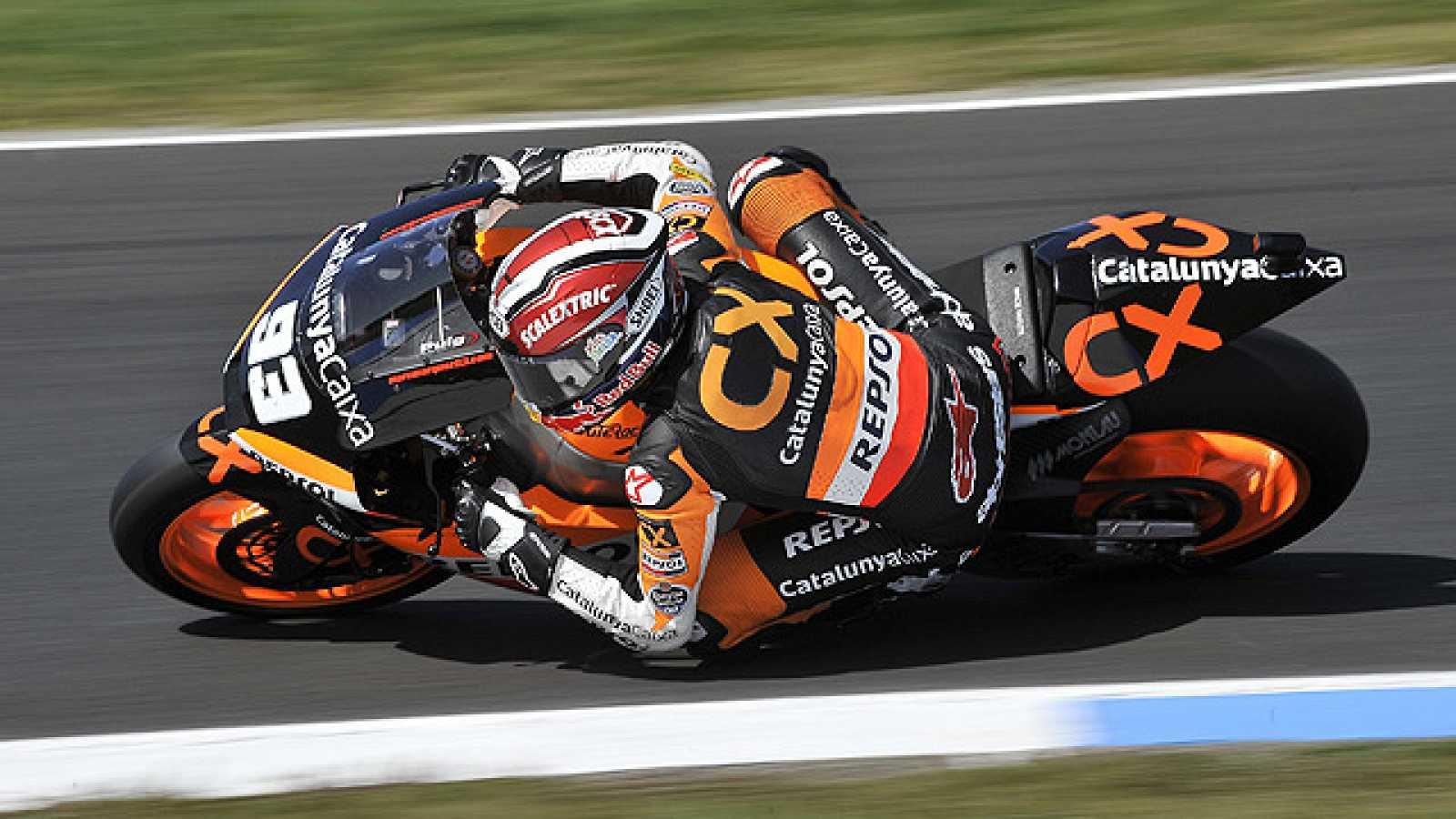 Con una remontada épica, Marc Márquez ha logrado subirse al podio en la categoría de Moto2 en el GP de Australia, tras partir del último lugar por una sanción.