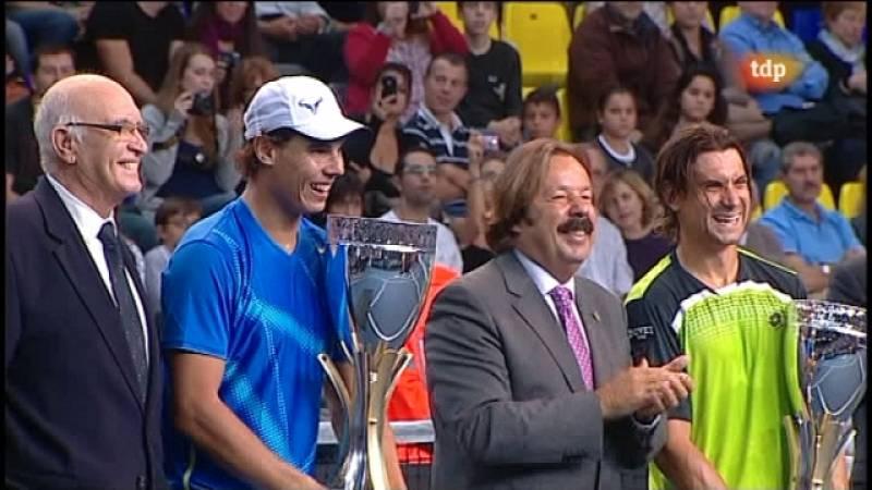 Tenis - Homenaje a Andrés Gimeno - 22/10/11 - Ver ahora