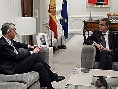 Urkullu pide a Zapatero que tome medidas con los presos de ETA antes de las elecciones