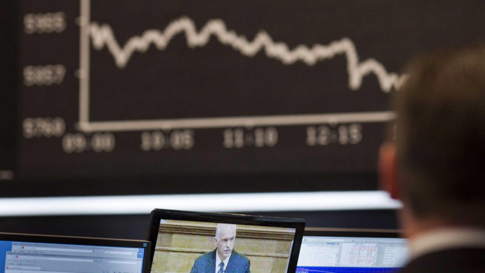 El anuncio del referendum griego provoca un desplome de las bolsas europeas