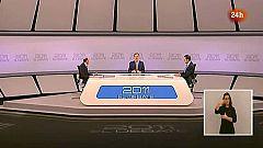 El cara a cara Rubalcaba-Rajoy en lengua de signos