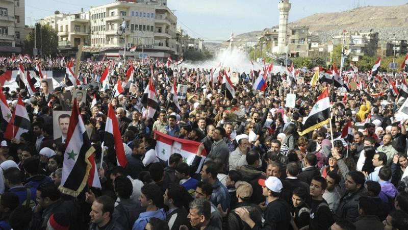 La oposición siria pide el despliegue de cascos azules en el país