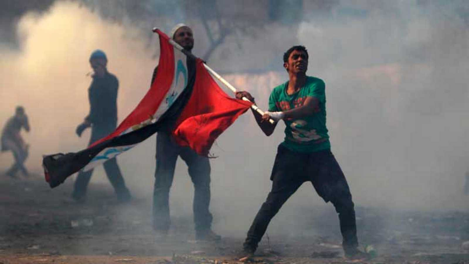 Quinto día consecutivo de violencia en Egipto