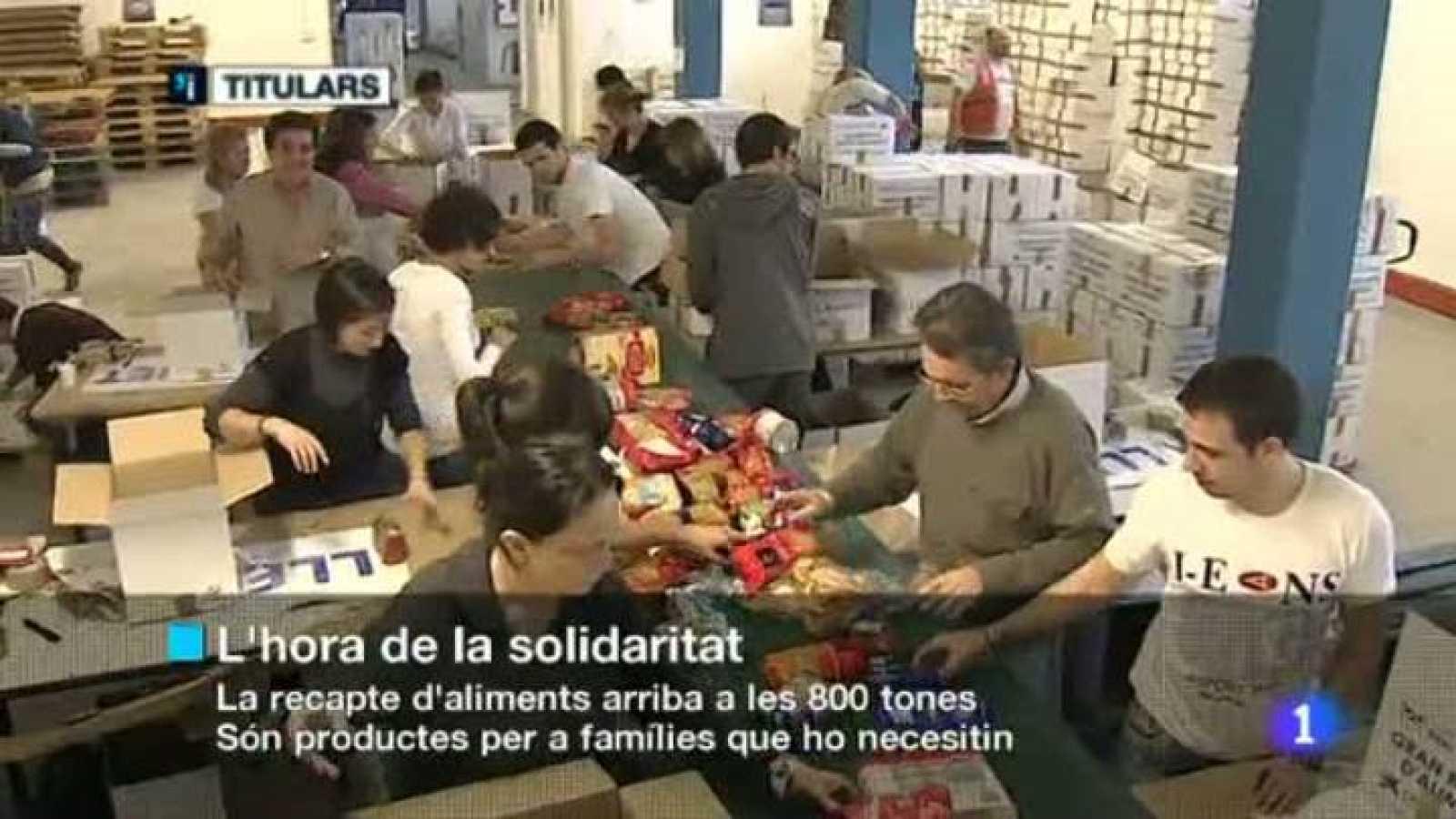 L'informatiu cap de setmana - 27/11/2011