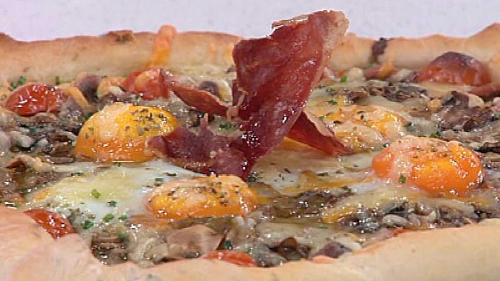 Pizza Con Verduras Y Huevo 28 11 2011 Rtve Es