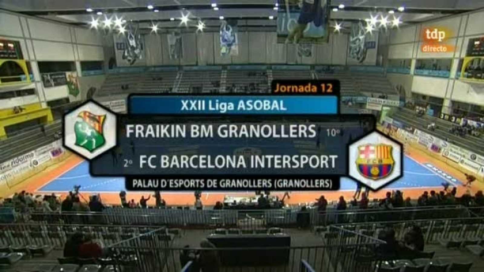 Balonmano - Liga ASOBAL: Fraikin BM Granollers - FC Barcelona Intersport - 30/11/11 - Ver ahora
