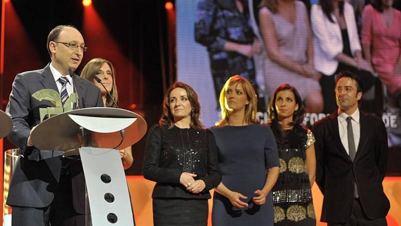 La Corporación RTVE ha recibido este miércoles por la noche cuatro galardones en la 58ª edición de los Premios Ondas, celebrada en el Gran Teatre del Liceu de Barcelona.