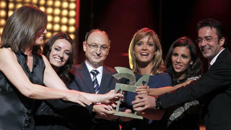 Los informativos de TVE y Juan Ramón Lucas recogen el Ondas 2011