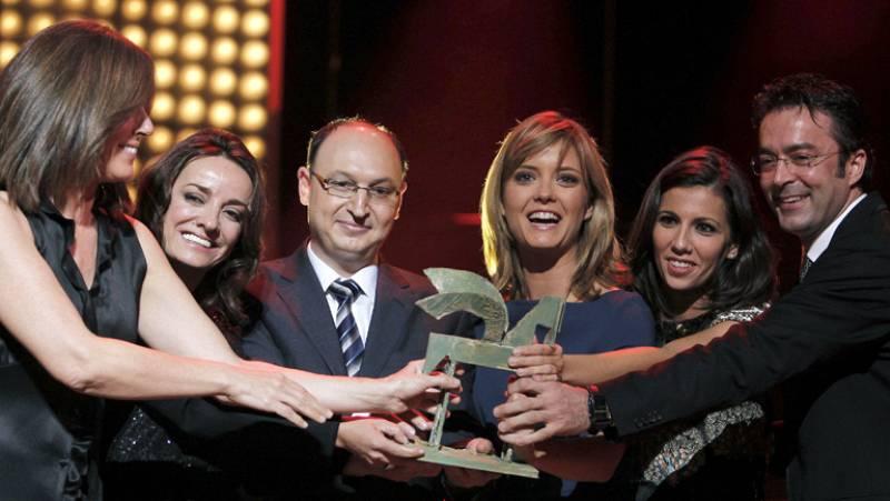 Radio Televisión Española recogió cinco premios Ondas en Barcelona