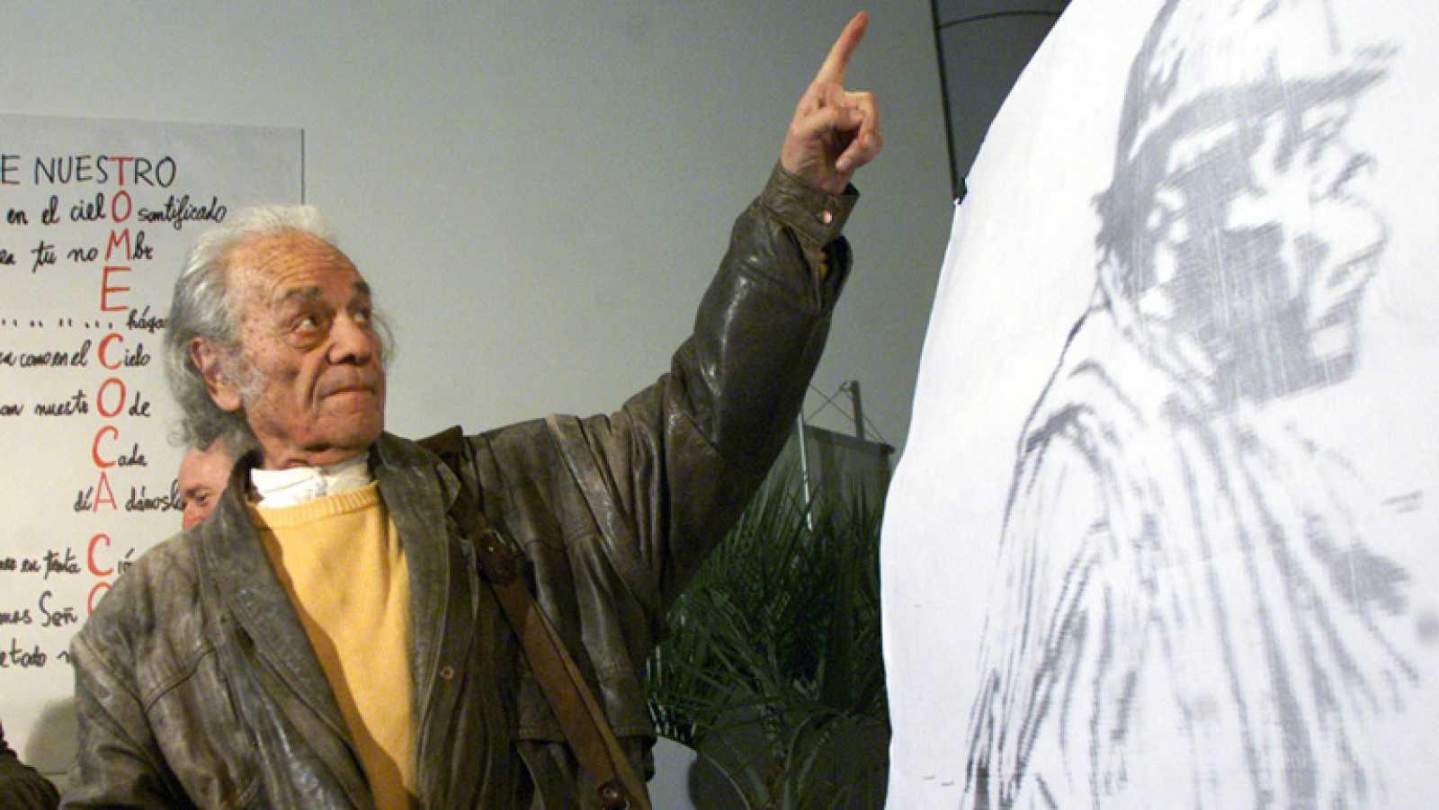Nicanor Parra recibe el Premio Cervantes