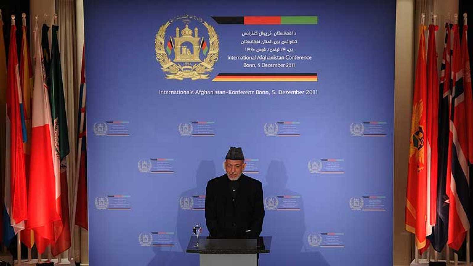 La antigua capital alemana, Bonn, acoge la conferencia internacional sobre Afganistán, una cita que medirá el compromiso internacional con un país que, según Kabul, precisará del apoyo exterior hasta 2024