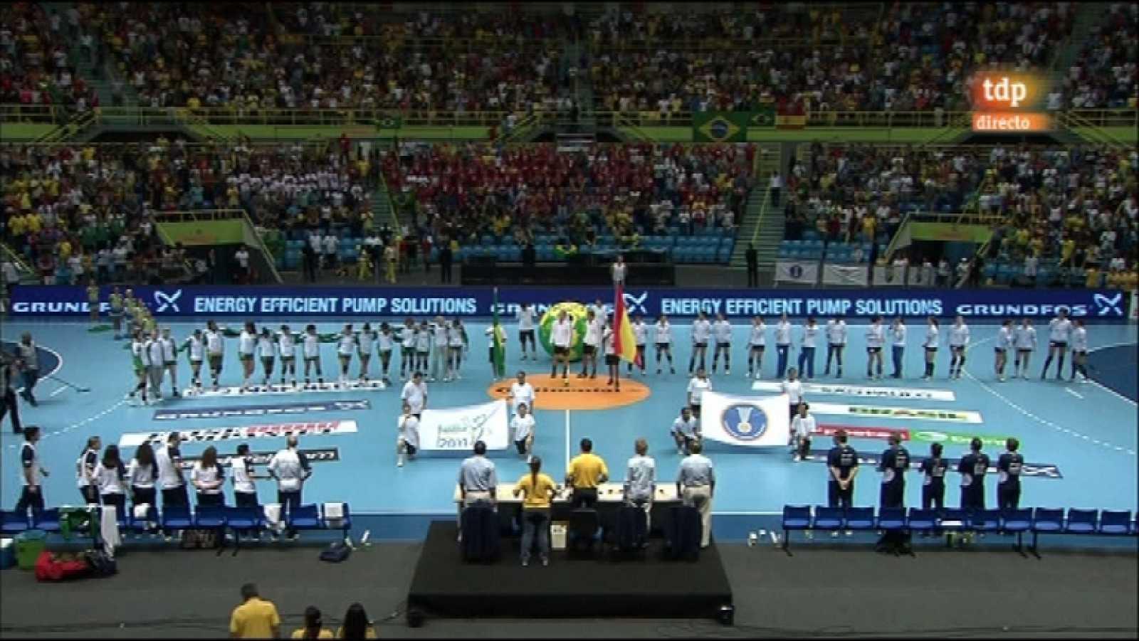 Balonmano Mundial Femenino España Brasil 14 12 11 Rtve Es