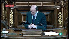 Sesión de investidura de Mariano Rajoy - Alfredo Pérez Rubalcaba, PSOE