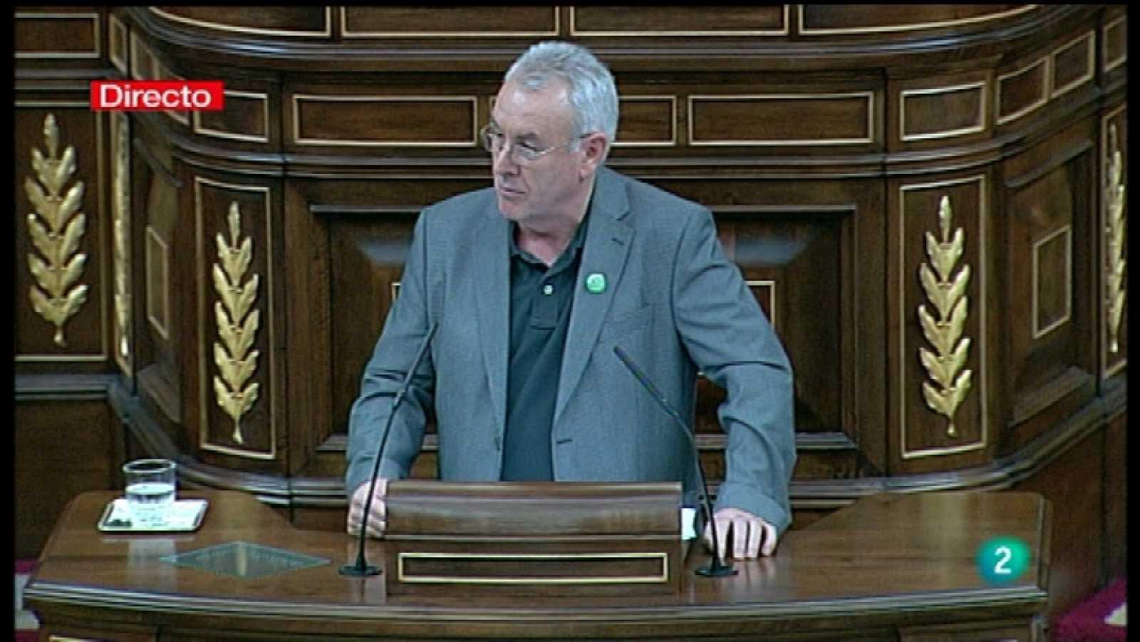 Sesión de investidura de Mariano Rajoy - Intervención de Izquierda Plural (IU, ICV, Chunta Aragonesista) - Ver ahora