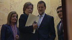 Ambiente en el Congreso tras la investidura de Rajoy