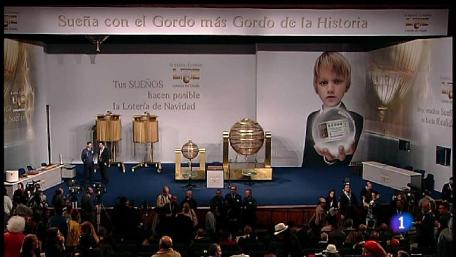 Especial informativo - Sorteo de la Lotería de Navidad 2011 - Primera hora - Ver ahora