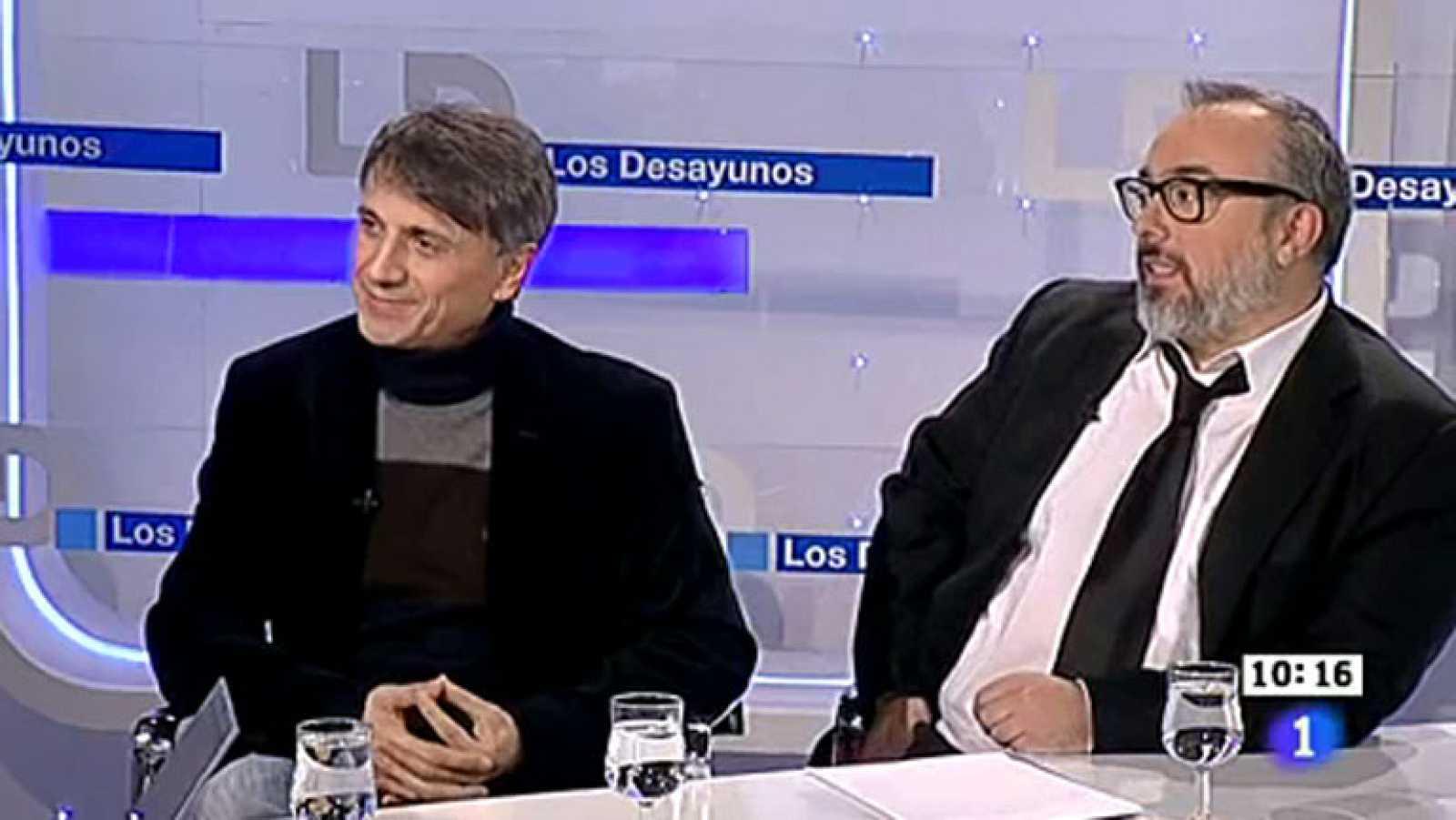 """Álex de la Iglesia y José Mota en Los Desayunos: """"Todos lo tenemos más crudo con la crisis"""""""