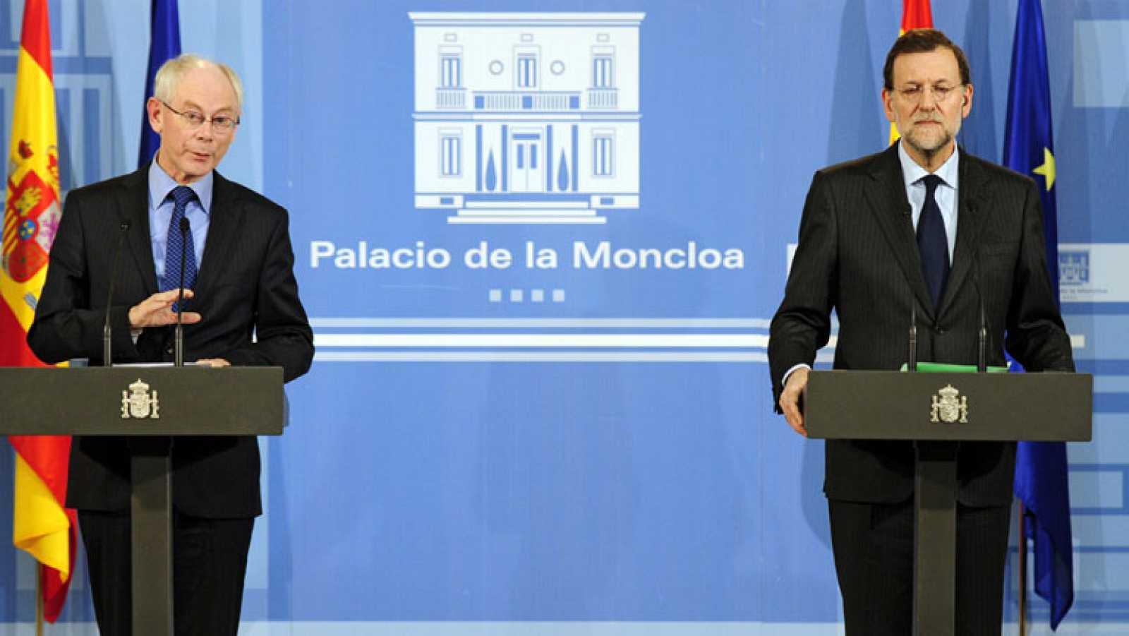 Mariano Rajoy asegura que no dejará caer a ninguna Comunidad Autónoma