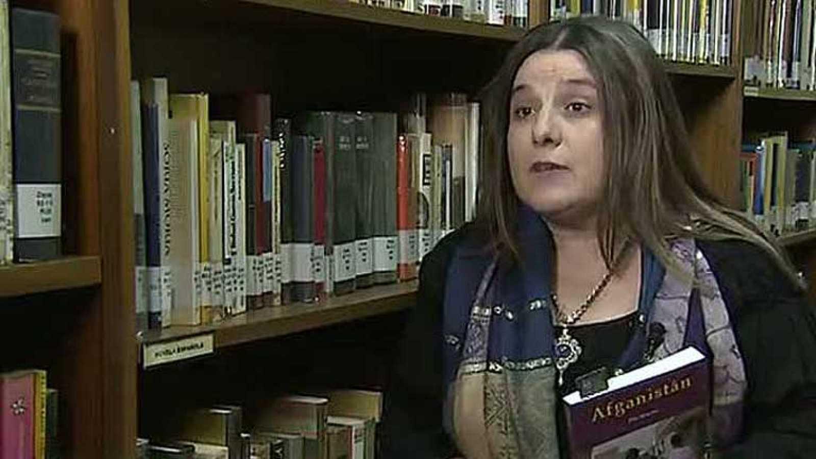 """La periodista del programa """"En Portada"""" de Televisión Española, Pilar Requena, ha presentado en Madrid, su libro """"Afganistán"""""""