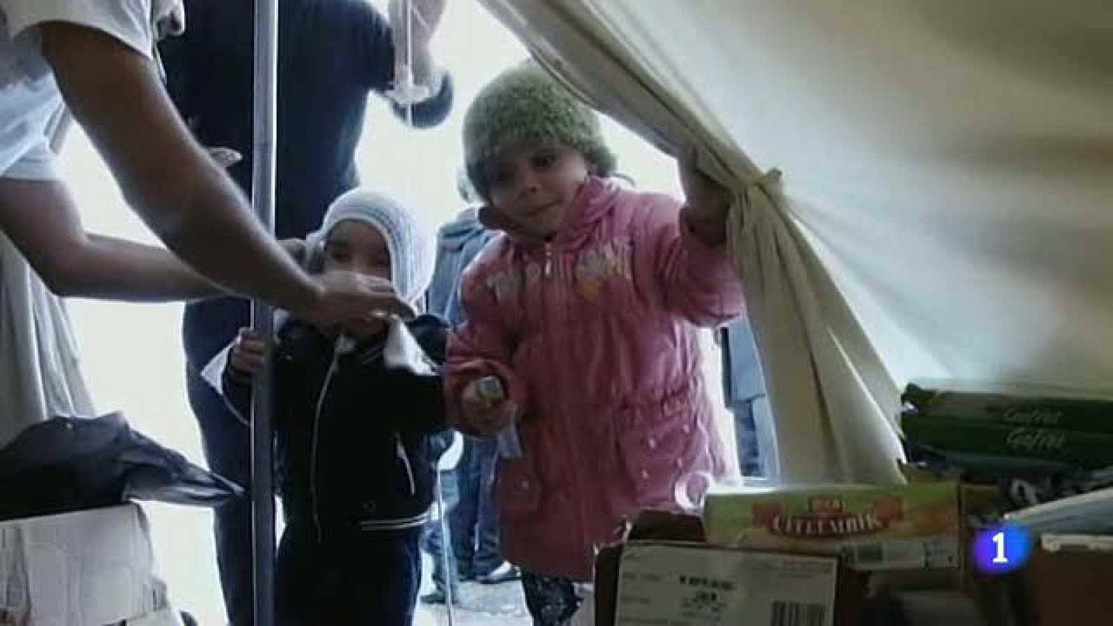 Campos de refugiados sirios