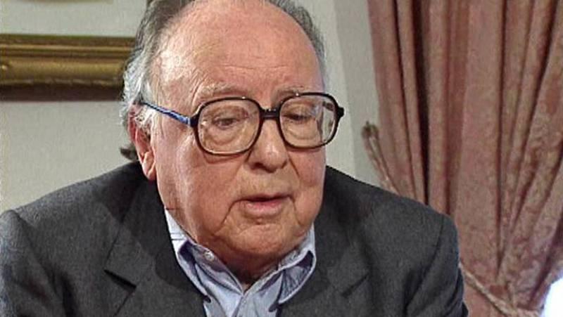 Augusto Monterroso en 'Negro sobre blanco' (1999)