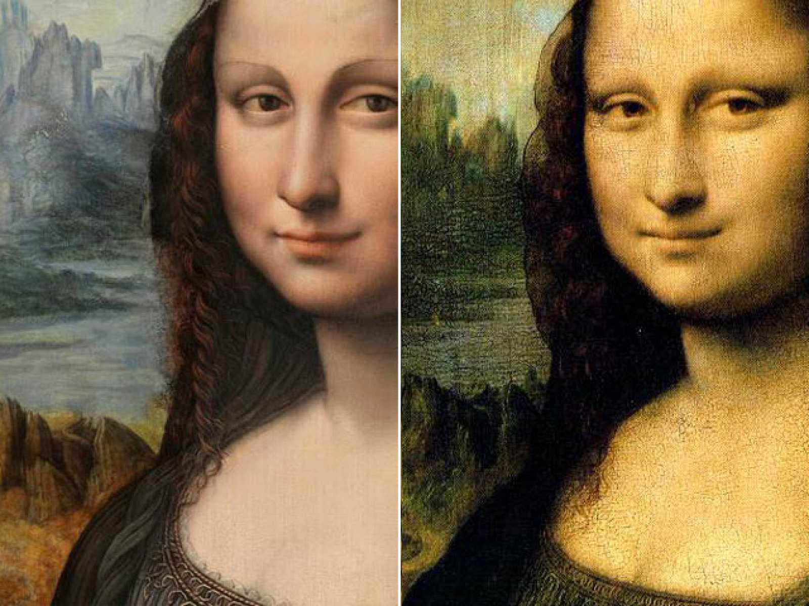 """La  """"Gioconda española"""" pintada en el mismo taller y tiempo que el maestro pintaba la original"""