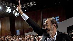 """Rubalcaba: """"Soy el secretario general de todos, sin facturas"""""""