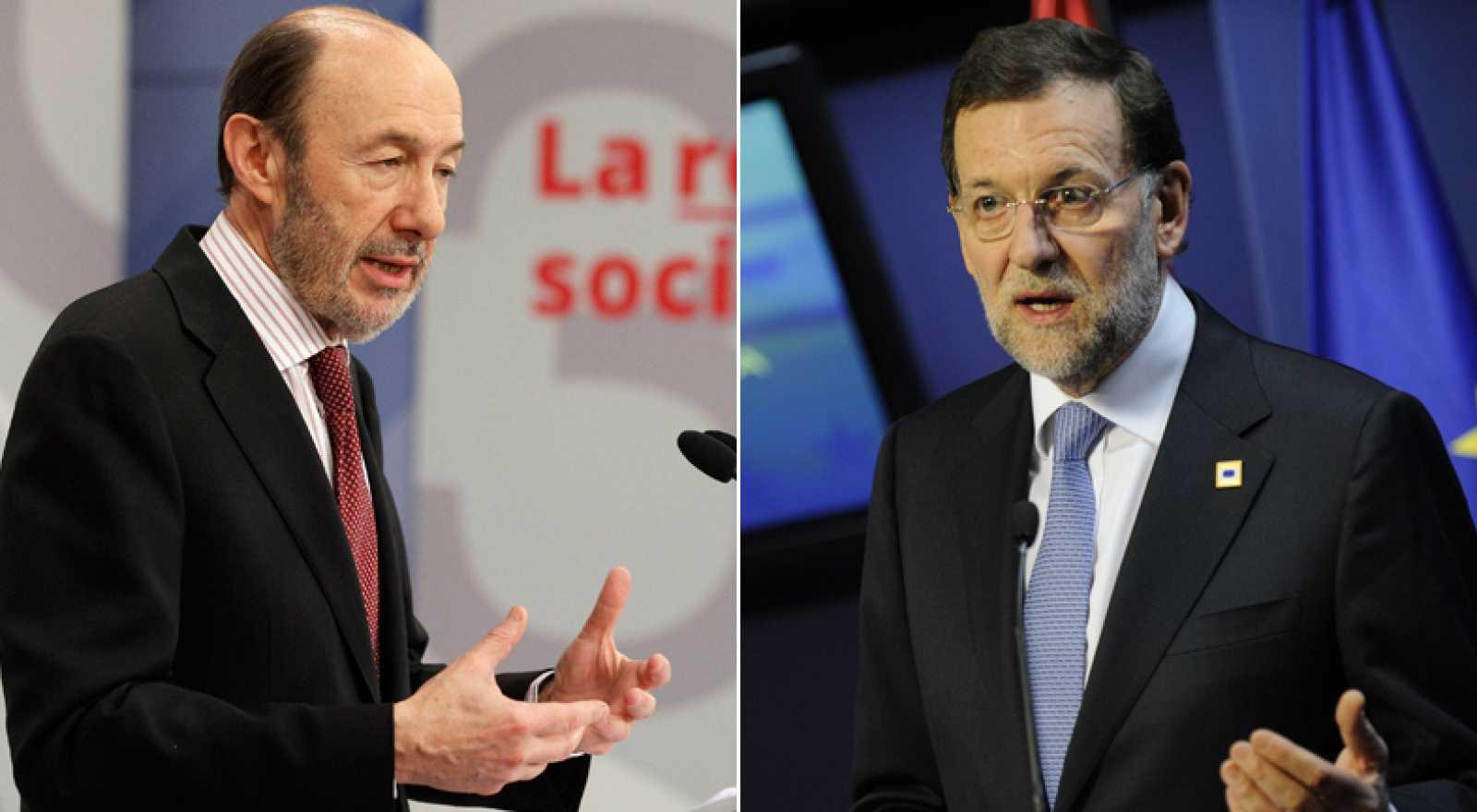 Primer cara a cara de Rajoy y Rubalcaba en el Congreso de los Diputados