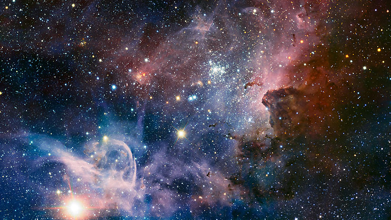 Detalles nunca visto de la Nebulosa de Carina, una 'guardería ...
