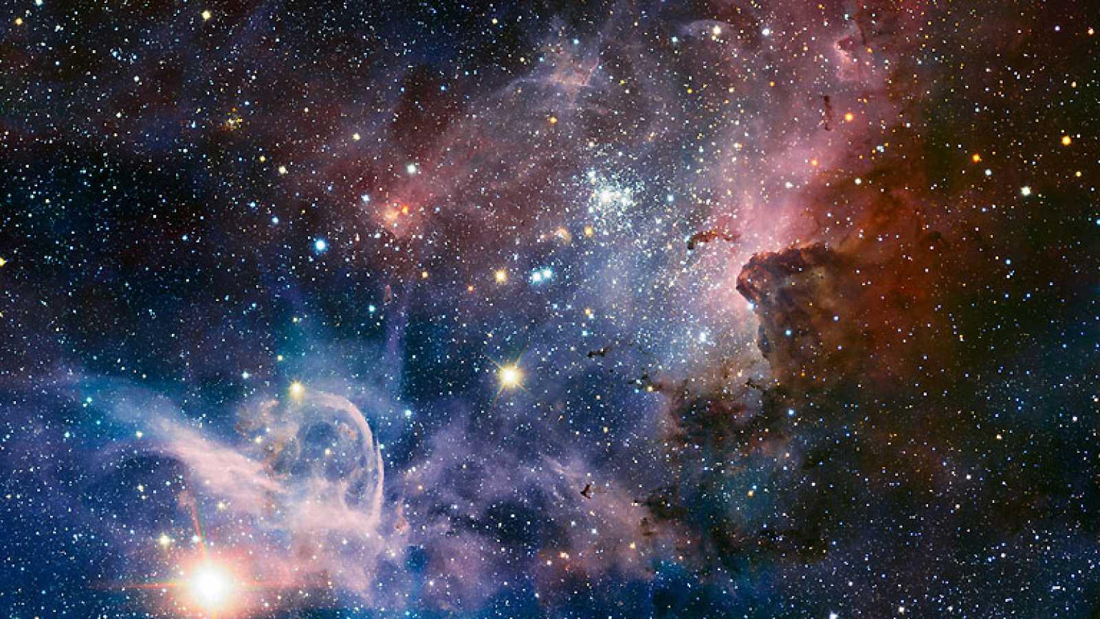 Detalles nunca visto de la Nebulosa de Carina, una 'guardería' estelar
