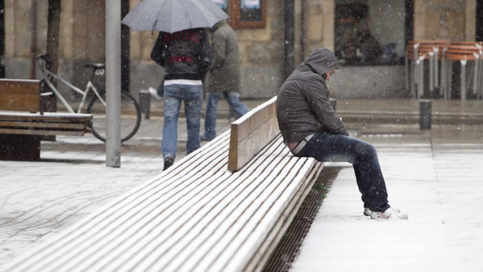 El temporal de frío nos deja temperaturas mínimas de 15 bajo cero en algunas zonas