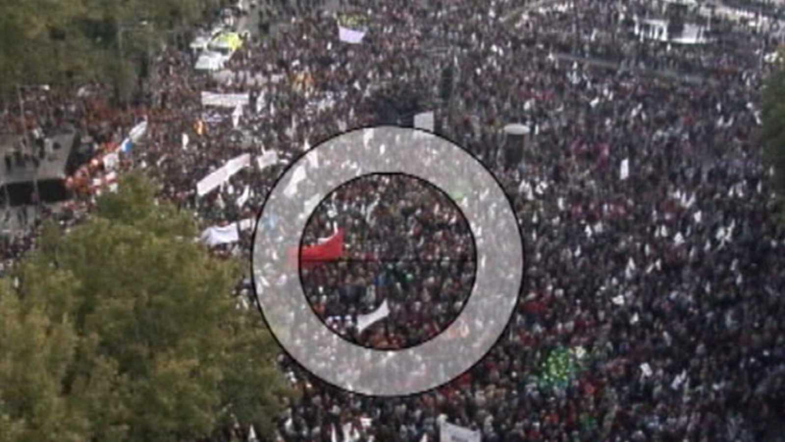 La empresa Lynce patentó un método para contar a todas las personas de una manifestación