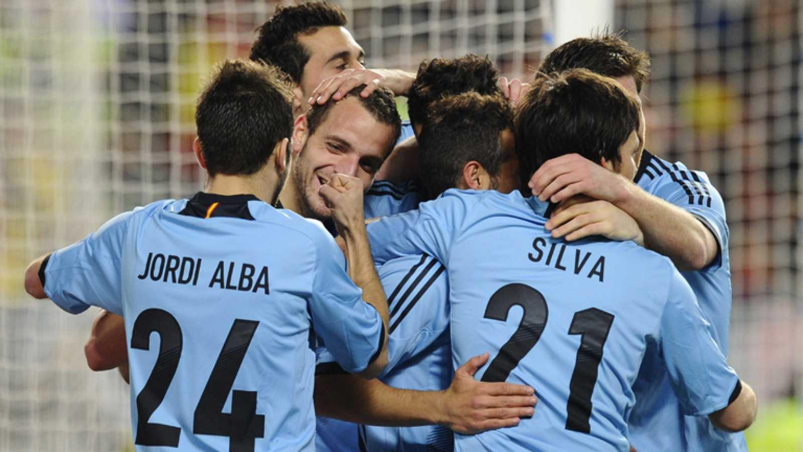 La selección española de fútbol ha goleado (5-0) a Venezuela.