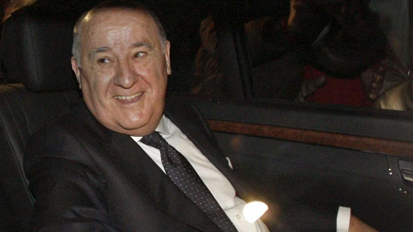 Amancio Ortega es el quinto hombre más rico del mundo